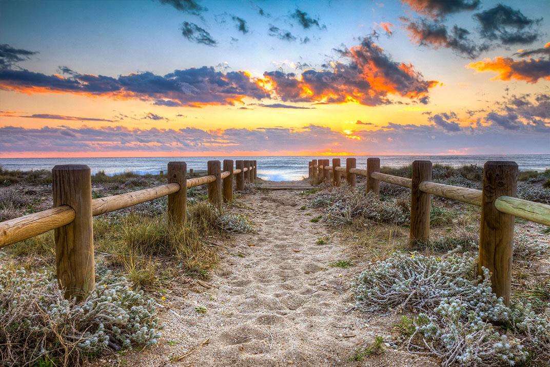 Sunset beach Gabo de Gata