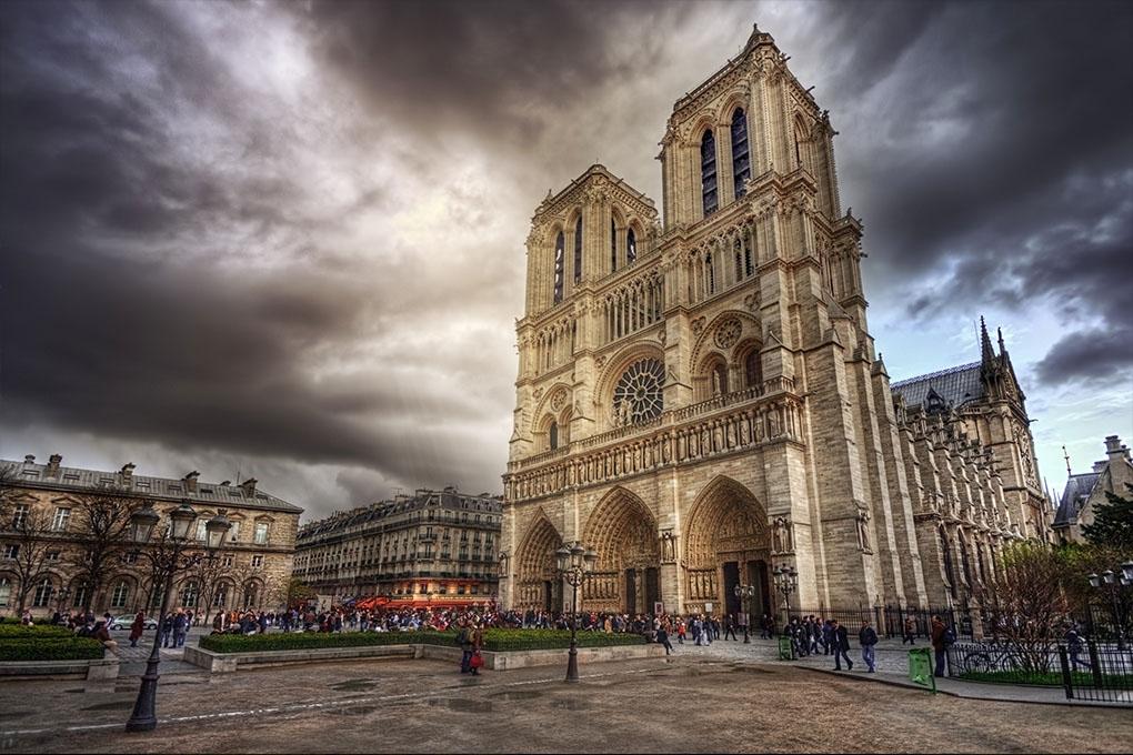 Notre Dame Parijs Frankrijk