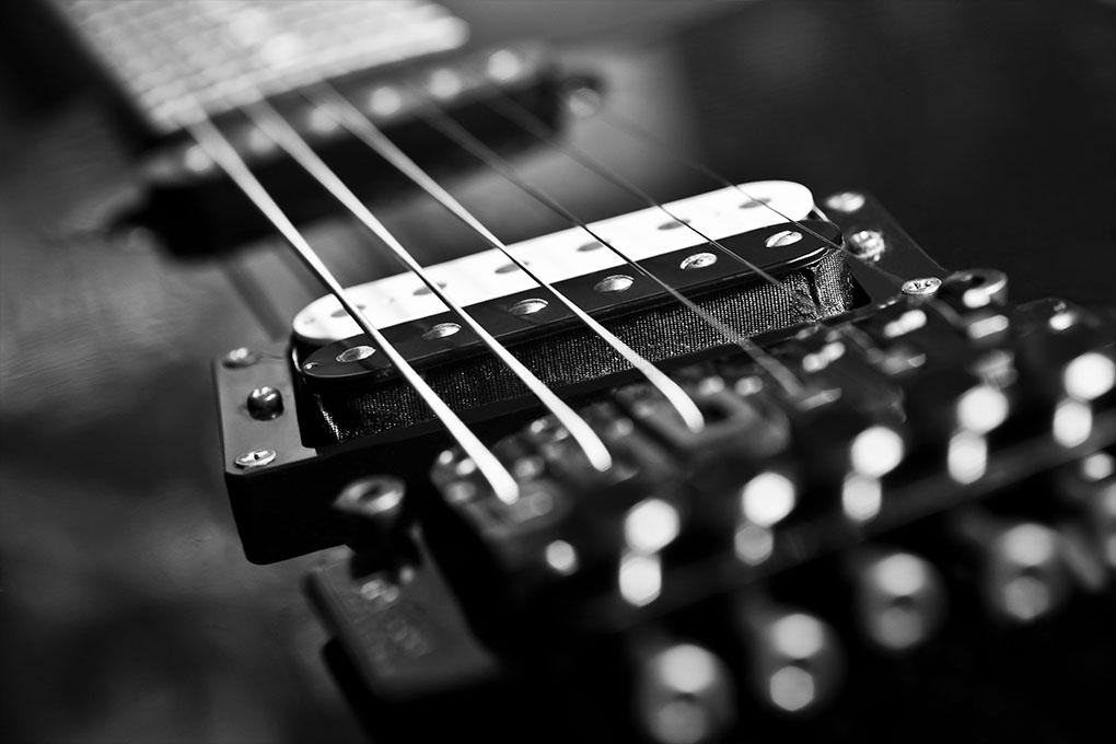 Elektrische gitaarsnaren