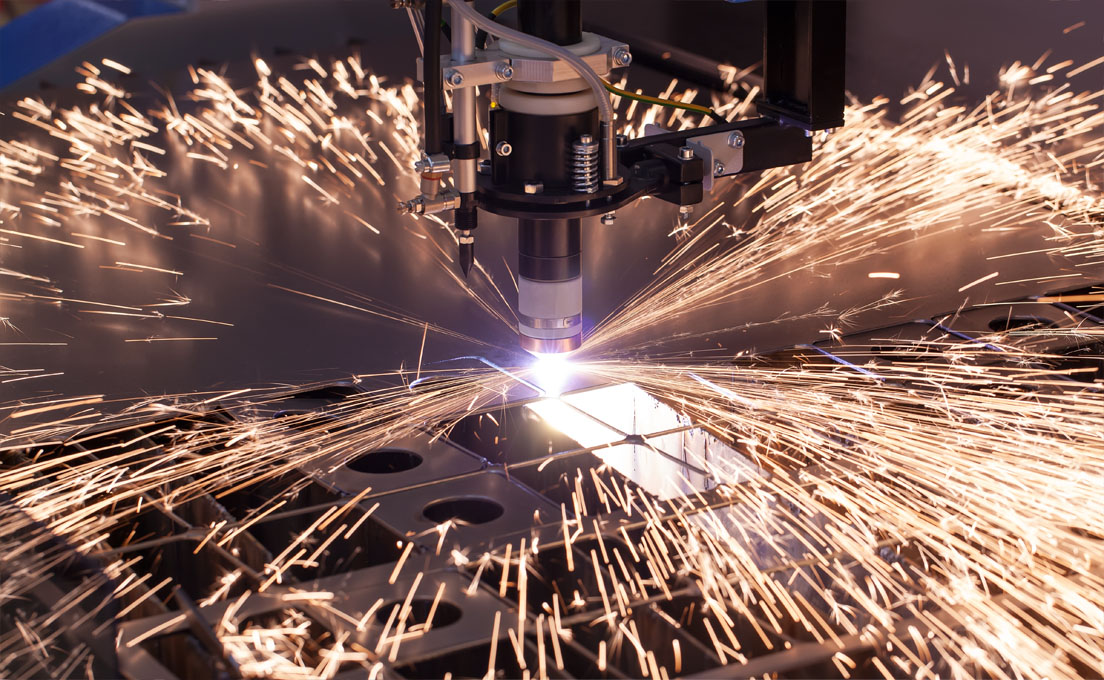 Industriële machine voor plasma snijden