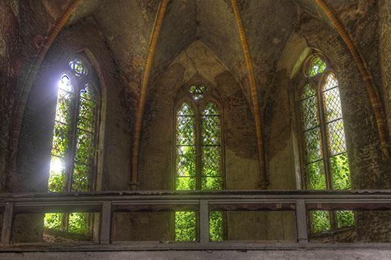Oude kerk venster