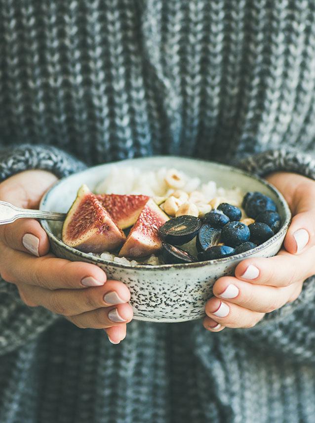 Gezond winter ontbijt