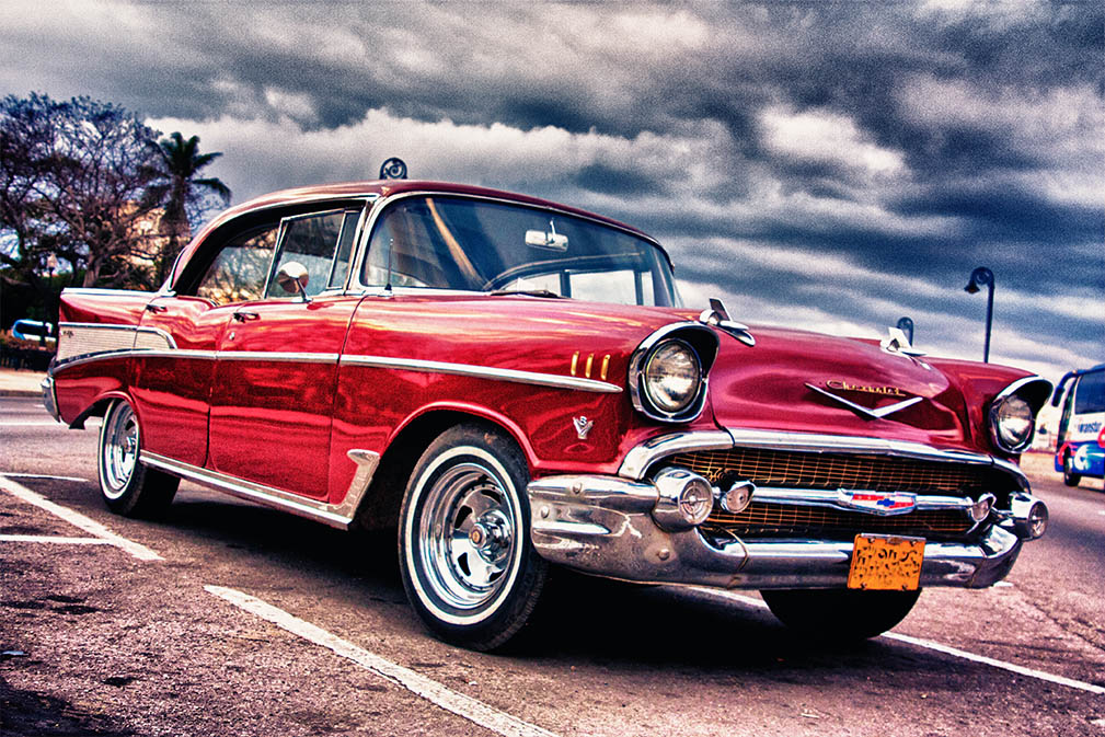Cuba oude auto