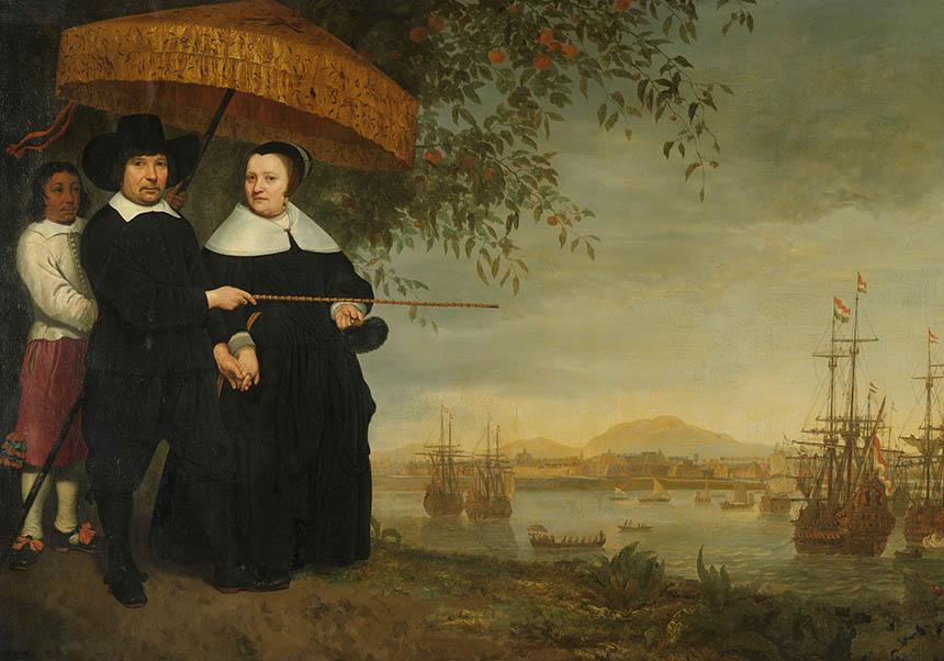 Een opperkoopman van de VOC, Aelbert Cuyp, ca. 1640 - ca. 1660