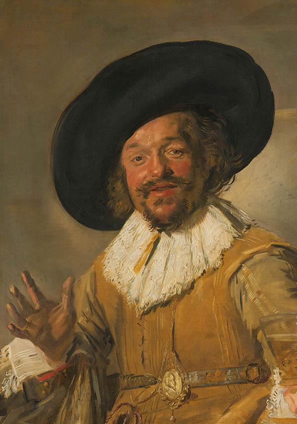 De vrolijke drinker, Frans Hals, ca. 1628 - ca. 1630