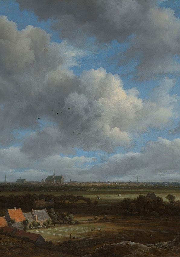 Gezicht op Haarlem, Jacob Isaacksz van Ruisdael, ca. 1650 - ca. 1682